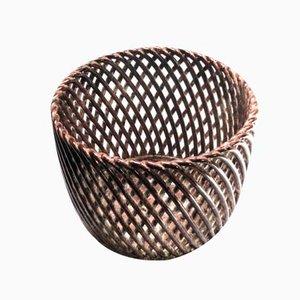 Large Austrian Cachepot from Mürztaler Keramik, 1950s