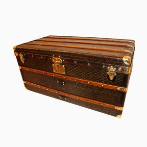 French Steamer Trunk from Goyard, 1920s