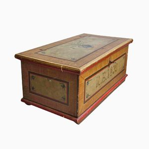 Antique Biedermeier Chest, 1839