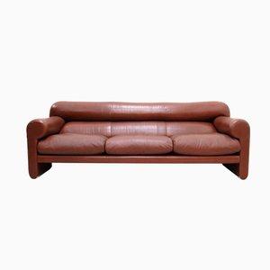 canap ds 61 vintage en cuir vert citron par de sede en. Black Bedroom Furniture Sets. Home Design Ideas