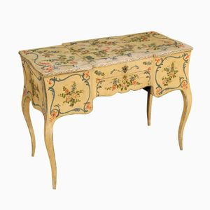 French Painted Dressing Table, 1870s