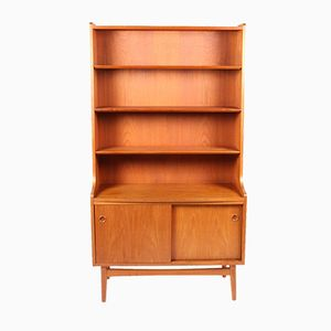 Danish Teak Bookcase with Cabinet from Nexø Møbelfabrik , 1950s