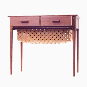 Danish Sewing Table by Poul Volther for FDB Mobler