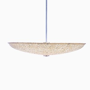 Large Fiberglass Pendant by Louis Kalff for Philips
