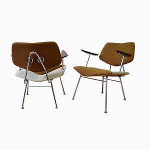 Danish Studio Chairs by Vermund Larsen for V.L. Møbler, 1961, Set of 2
