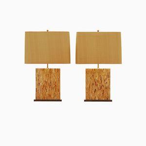 Tischlampen von Roger Vanhevel, 1970er, 2er Set