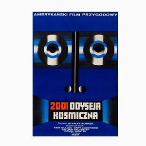Affiche de Film Vintage 2001: A Space Odyssey Film Poster par Wiktor Górka, Pologne, 1973