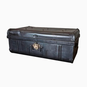 English Brass and Metal Suitcase