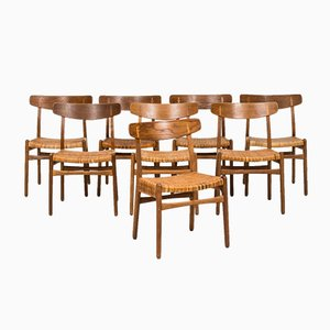 Model CH-23 Dining Chairs by Hans Wegner for Carl Hansen & Son, Set of 8
