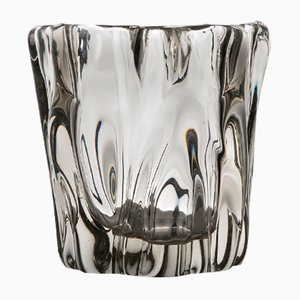 Kalvolan Kanto Glass Vase by Tapio Wirkkala for Iittala, 1948