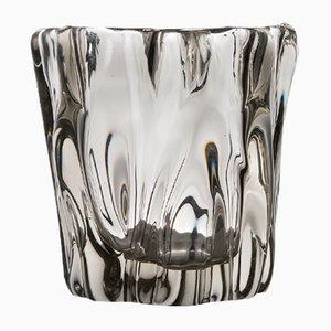 Kalvolan Kanto Vase aus Glas von Tapio Wirkkala für Iittala, 1948