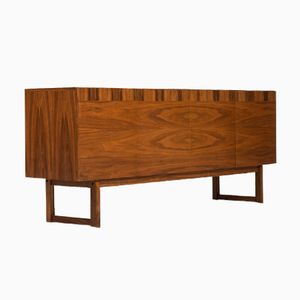 Walnut Sideboard by Ib Kofod-Larsen for Seffle Möbelfabrik, 1960s