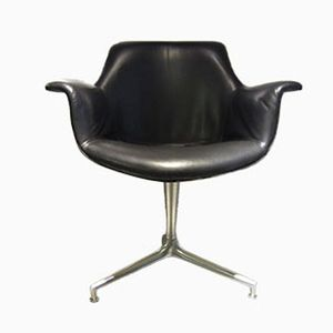Swivel Chair by Preben Fabricius & Jorgen Kastholm for Alfred Kill, 1965