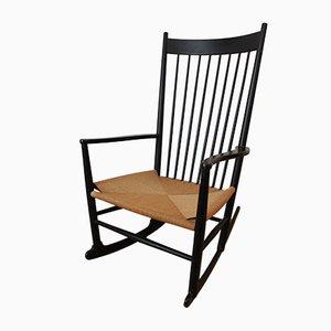 Rocking Chair J16 par Hans Wegner pour FDB Møbler, Danemark, 1950s