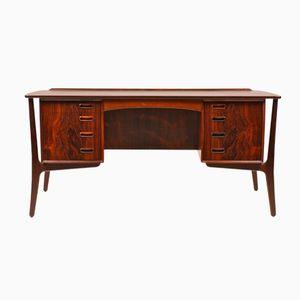 Rosewood Desk by Svend Aage Madsen for Sigurd Hansen