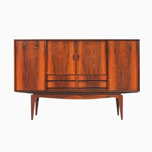 Danish Rosewood Highboard, 1960s