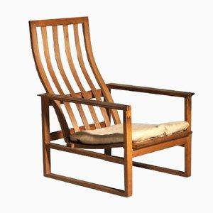 Armlehnstuhl aus Eichenholz von Børge Mogensen für Fredericia Stolefabrik, 1960er