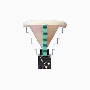 Italienische Glastonbury Tischlampe von George J. Sowden, 1984