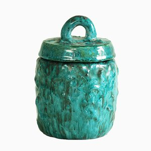 French Earthenware Pot by Alice Colonieu, 1950s