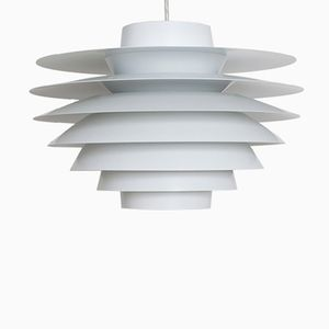 Grande Lampe à Suspension Verona Vintage par Sven Middelboe pour Nordisk Solar Compagni