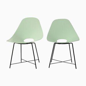 Stühle von Augusto Bozzi, 1950, 2er Set