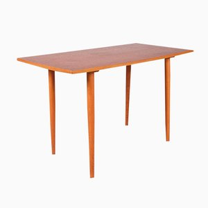 Swedish Teak and Birch Coffee Table from Tingströms, 1950s