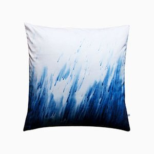 Whatever the Weather #02 Pillow by Anna Badur
