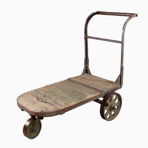 Industrial Cast Iron Cart, 1920s