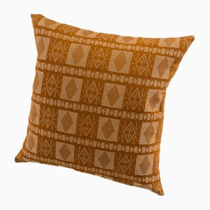 Katsina Decorative Cushion in Saffron by Nzuri Textiles