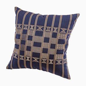 Cuscino decorativo Minna blu indaco di Nzuri Textiles