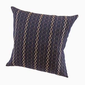 Coussin Décoratif Mbake Bleu Indigo par Nzuri Textiles
