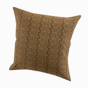 Cuscino Samburu decorativo color cammello di Nzuri Textiles