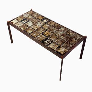 Low Ceramic Coffee Table by Mado Jolain