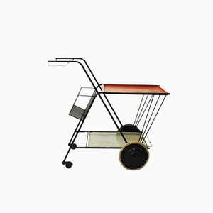 French Metal Tea Trolley