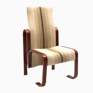 Bentwood High Back Chair by Jan Bočan, 1972
