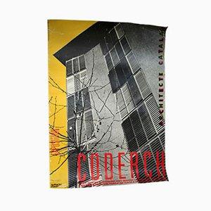 Coderch Ausstellung Poster, 1989