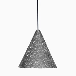 Gesso Lamp in Anthracite by Jonas Edvard