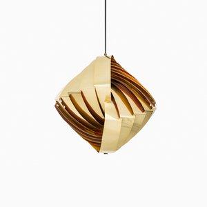Konkylie Deckenlampe von Louis Weisdorf für Lyfa, 1950er