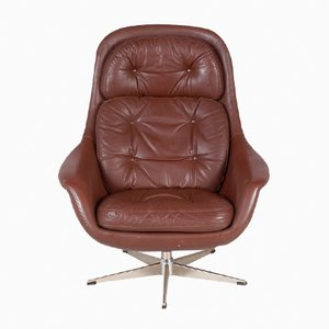 Mid-Century Swivel Chair by H. W. Klein for Bramin