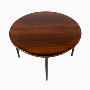 Mid-Century Rosewood Extendable Dining Table by Niels Otto Møller for J.L. Møllers