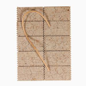 Holz Wanddekoration in Limitierter Auflage von Alvar Aalto für Artek, 1977