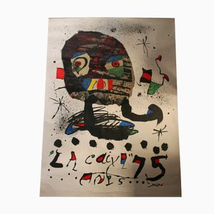 Grand Poster Miró Mid-Century, Espagne