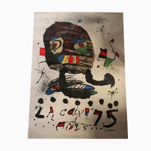 Großes Spanisches Mid-Century Miró Plakat