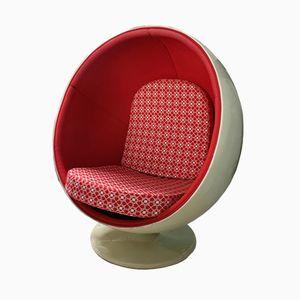 Vintage Fiberglass Ball Chair by Eero Aarnio