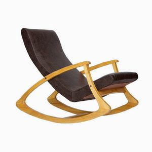 Czech Swing Lounge Chair, 1960s