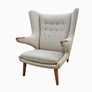 Model AP 19 Papa Bear Chair by Hans J. Wegner for A.P. Furniture, 1962