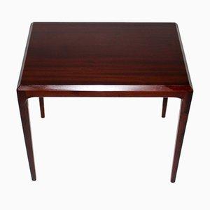 Danish Rosewood Side Table by Johannes Andersen, 1960s