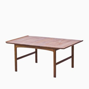 Large Swedish Coffee Table by Folke Ohlsson for Tingströms, 1950s
