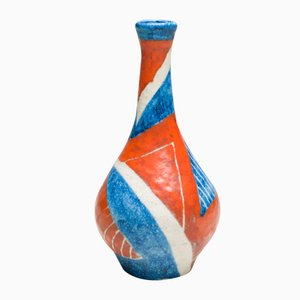 Italian Large Ceramic Vase by Guido Gambone, 1951