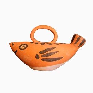 Brocca Mid-Century a forma di pesce di Picasso per Madoura
